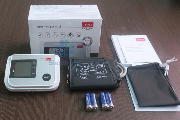 Máy đo huyết áp điện tử bắp tay Boso Medicus Vital