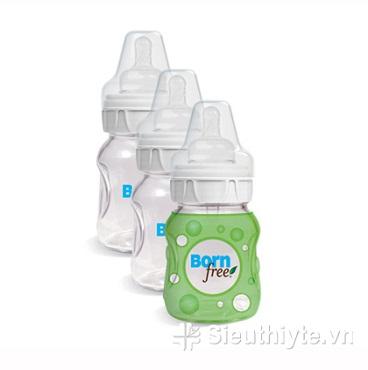 Bộ 3 bình sữa thủy tinh 160ml