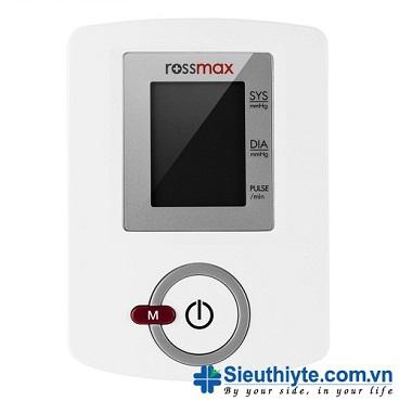 Máy đo huyết áp điện tử bắp tay Rossmax AW150