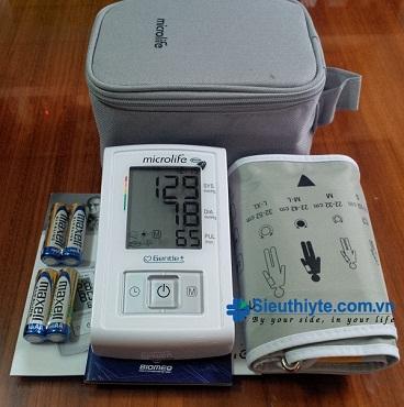 Máy đo huyết áp điện tử bắp tay Microlife BP A3 Basic