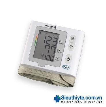Máy đo huyết áp điện tử cổ tay Microlife BP W2-Slim