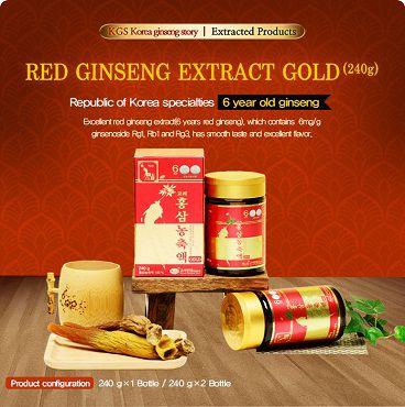 Cao hồng sâm Gold KGS 240gx2