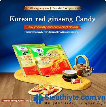 Kẹo Hồng Sâm KGS 200g