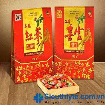Kẹo Hồng Sâm KGS 550g