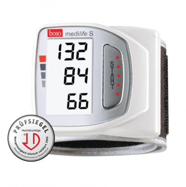 Máy đo huyết áp điện tử cổ tay Boso Medilife S
