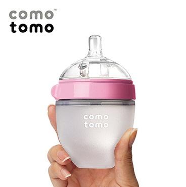 Bình sữa Silicone Comotomo 150ml - màu hồng