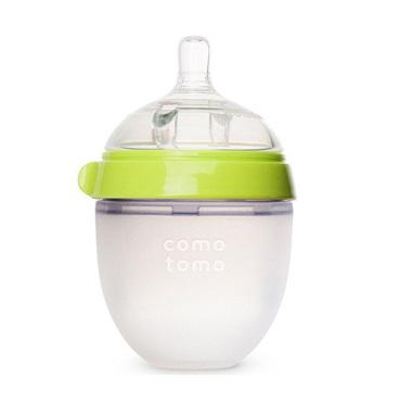 Bình sữa Silicone Comotomo 150ml – màu xanh