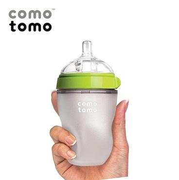 Bình sữa Silicone Comotomo 250ml – màu xanh