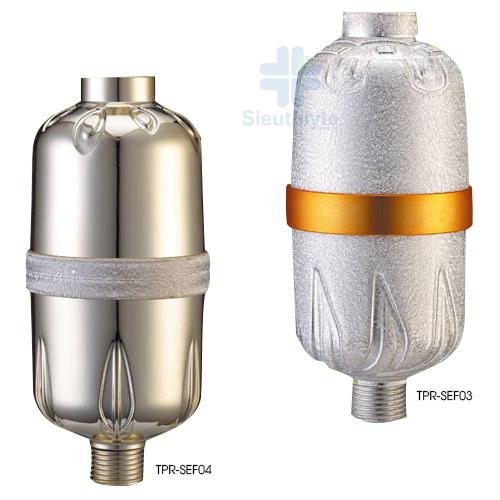 Bộ lọc vòi tắm hoa sen TPR-SEF03 và TPR-SEF04