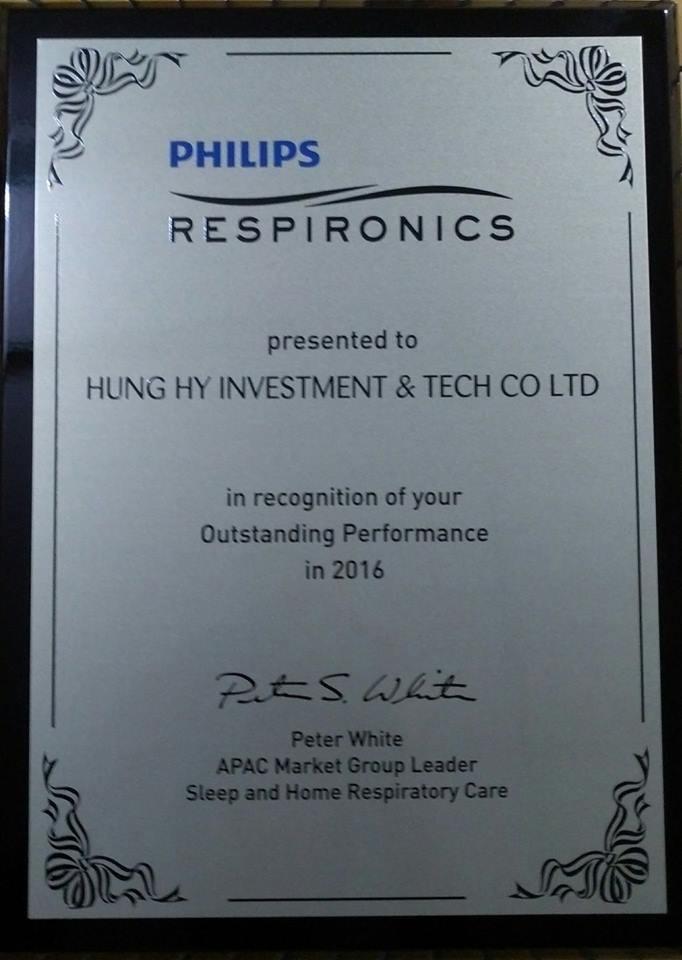 Hung Hy được Philips công nhận là đơn vị nhập khẩu và phân phối xuất sắc năm 2016