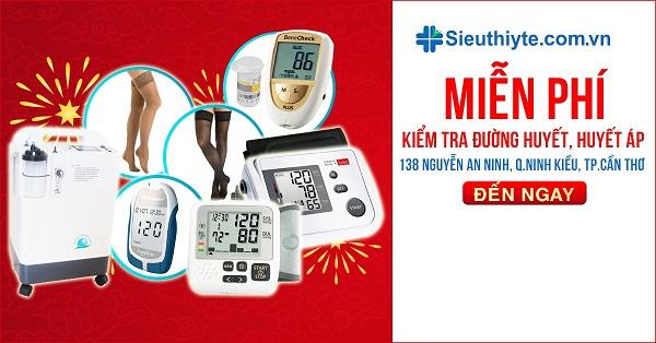 Chương trình đo đường huyết, huyết áp MIỄN PHÍ tại Cần Thơ