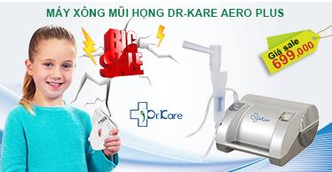 Quảng cáo trang chủ máy xông mũi họng Dr-kare Aero Plus 8/9
