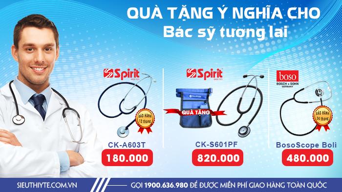 Kinh nghiệm mua ống nghe y tế tốt