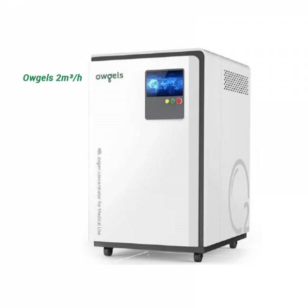 Máy tạo oxy bệnh viện Owgels 2m3/h
