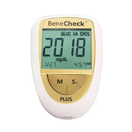 Máy đo đường huyết, mỡ máu, gút BeneCheck
