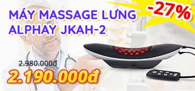 top quảng cáo Máy massage lưng Alphay
