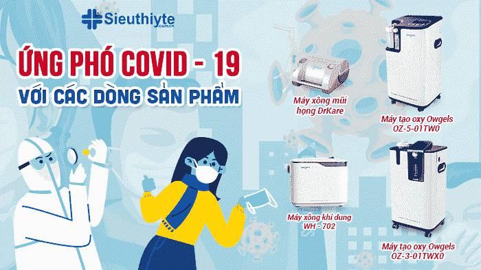 Sản phẩm hỗ trợ ứng phó COVID-19