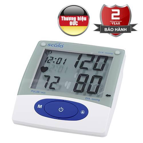 Máy đo huyết áp điện tử bắp tay Scala KP-6925