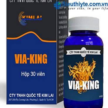 VIÊN ĐÔNG TRÙNG HẠ THẢO VIA-KING (30 Viên)