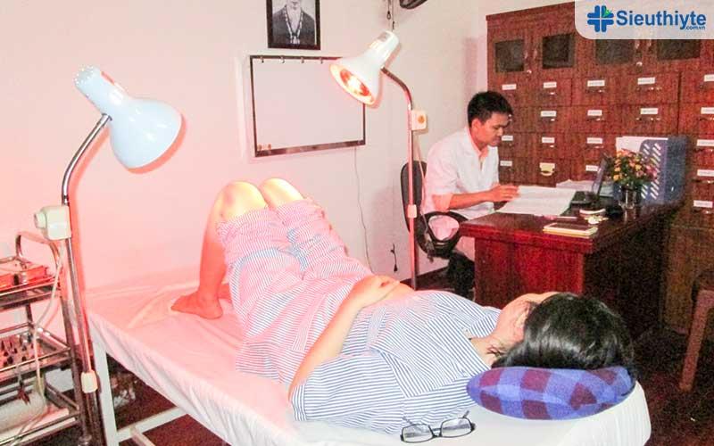 Tác dụng của đèn hồng ngoạitrong điều trị bệnh