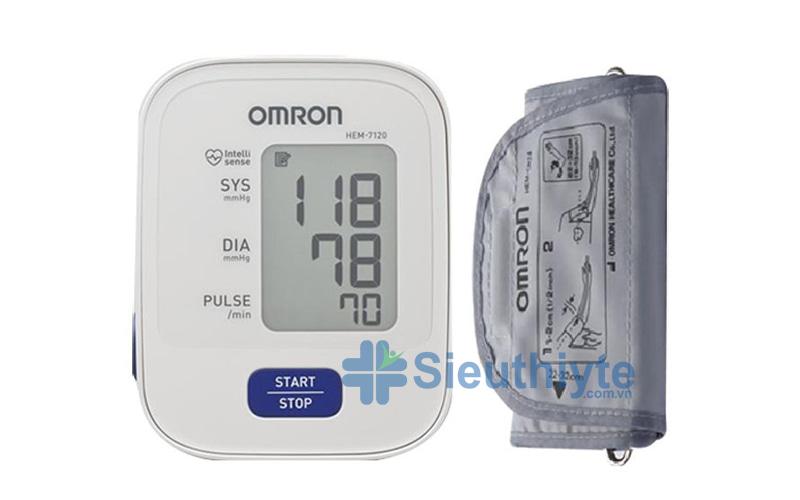 máy đo huyết áp bắp tay omron 7120