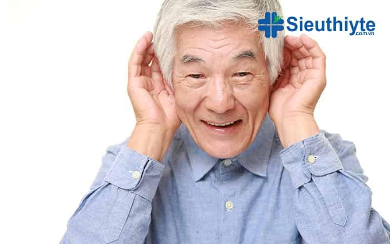 tình trạng điếc tai ờ người lớn tuổi