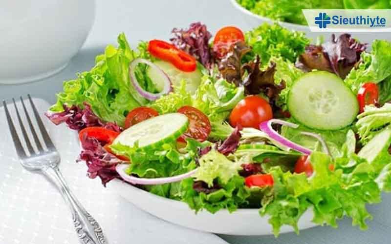 Món salad dành cho người bệnh tiểu đường