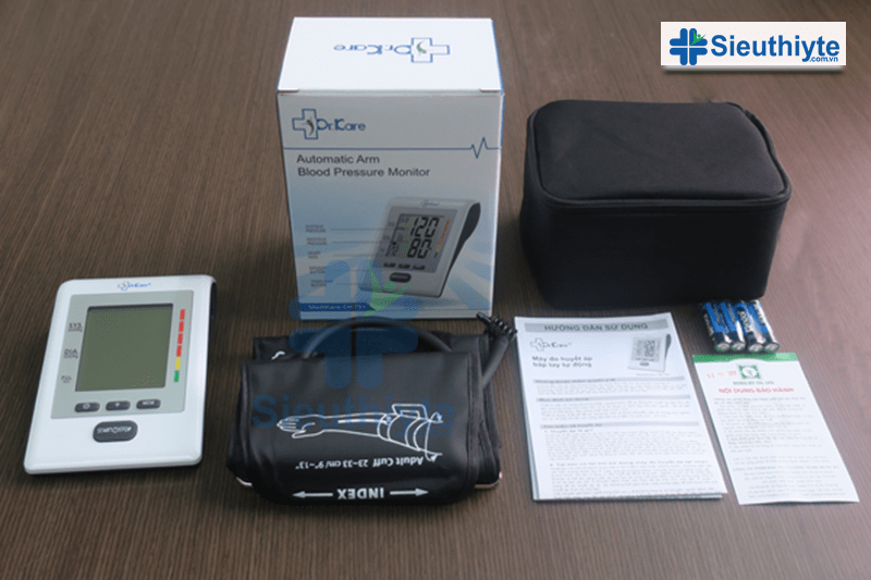 Máy đo huyết áp điện tử MediKare DK79+