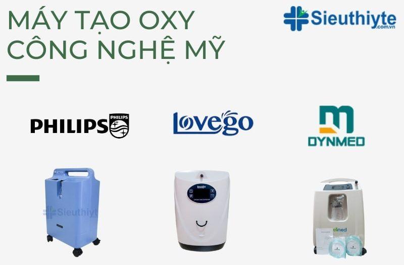 Top 3 thương hiệu máy tạo oxy công nghệ Mỹ