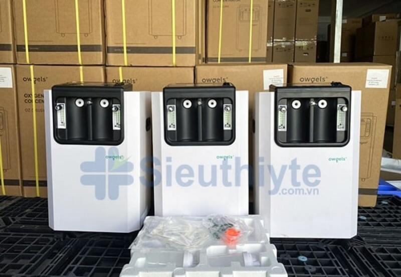 Máy tạo oxy của Đức 10 lít Owgels OZ-5-01NW0 hoạt động khá êm ái, không làm ảnh hưởng đến giấc ngủ và thời gian nghỉ ngơi của người bệnh.