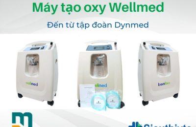 Máy tạo oxy Wellmed được sản xuất bởi công ty Dynmed trực thuộc tập đoàn hàng đầu trong việc sản xuất các thiết bị y tế Dynamic Group