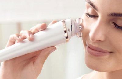 Máy massage mặt là thiết bị làm đẹp tại nhà được nhiều chị em ưa thích và tin dùng