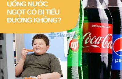 Uống nước ngọt có bị tiểu đường không?