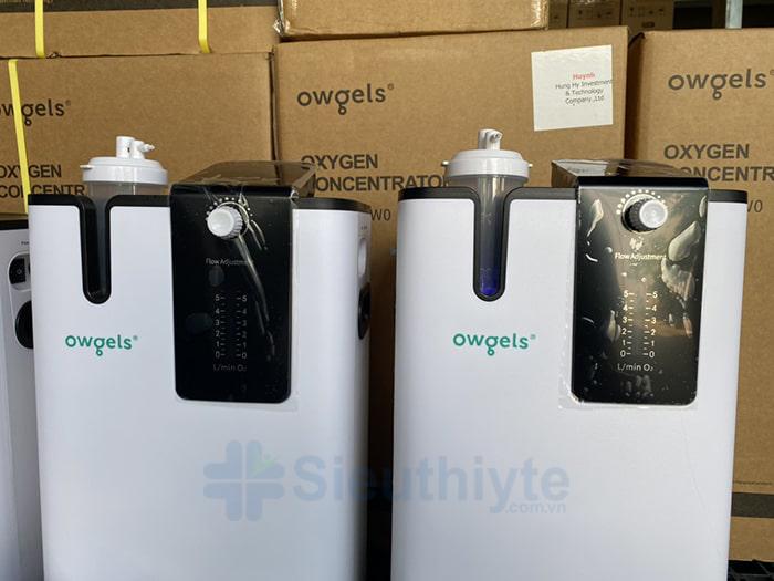 Máy tạo oxy 5 lít Owgels OZ-501PWO - Có xông khí dung