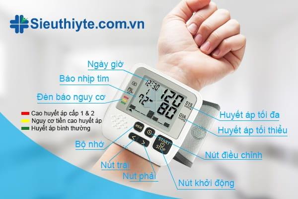 Hướng dẫn cách sử dụng máy đo huyết áp điện tử tại nhà