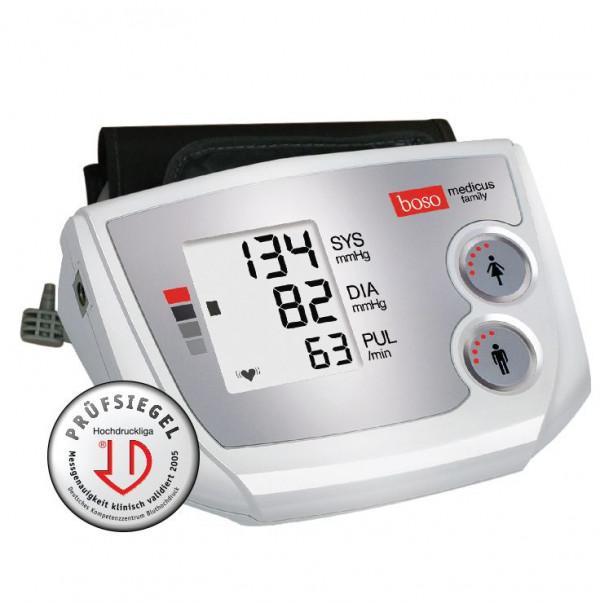 Máy đo huyết áp điện tử bắp tay Boso Medicus Family