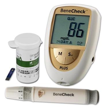 Máy đo Acid Uric (kiểm tra Gout) Benecheck Plus