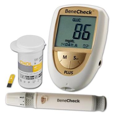 Máy đo mỡ trong máu Benecheck Plus