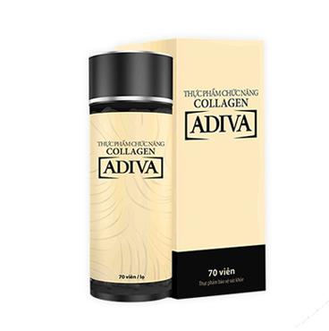 Thực phẩm chức năng collagen ADIVA viên siêu tiết kiệm