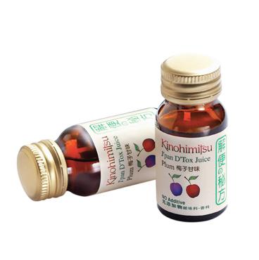 Nước uống giải độc tố cơ thể Kinohimitsu J'pan D'Tox Juice 30ml x 6