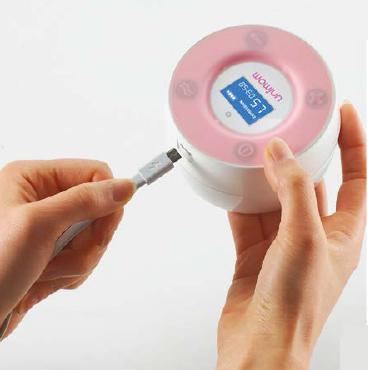 Máy hút sữa điện đôi Minuet LCD UM872019