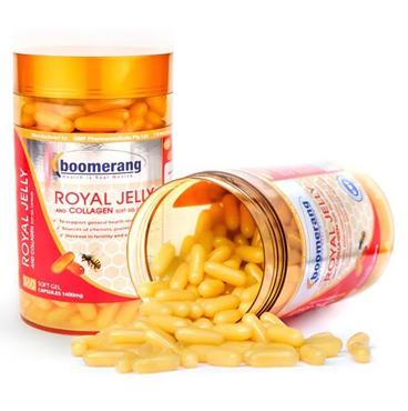 Viên uống sữa ong chúa Royal Collagen Boomerang 120 viên