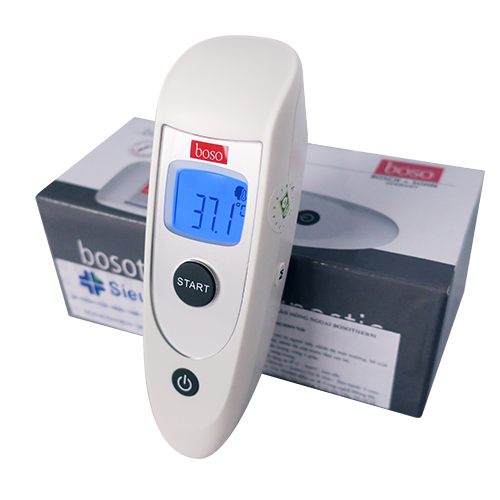 Nhiệt kế điện tử hồng ngoại đo trán Bosotherm Diagnostic