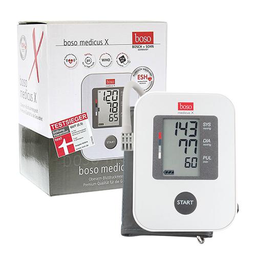 Combo Máy đo đường huyết Sapphire - Máy đo huyết áp Boso Medicus X