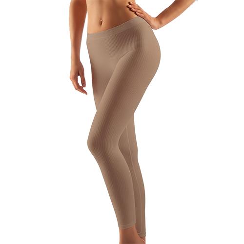 Quần legging giảm béo cạp thấp Microfiber Art.132