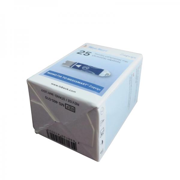 Que thử máy đo đường huyết Sapphire Plus (25 que)