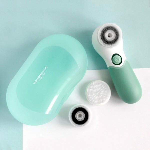 Máy rửa mặt massage mặt 3 trong 1 TouchBeauty TB14838