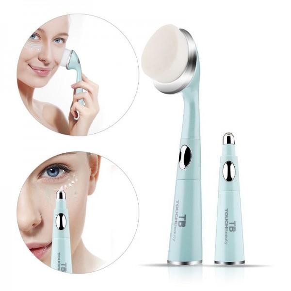 Máy rửa mặt massage mắt giảm quầng thâm TouchBeauty TB-1581