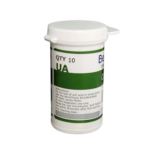 Que thử Acid Uric - Benecheck 3 in 1 (25 que)