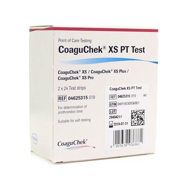 Que đo độ đông máu Coaguchek XS (2x24 que)